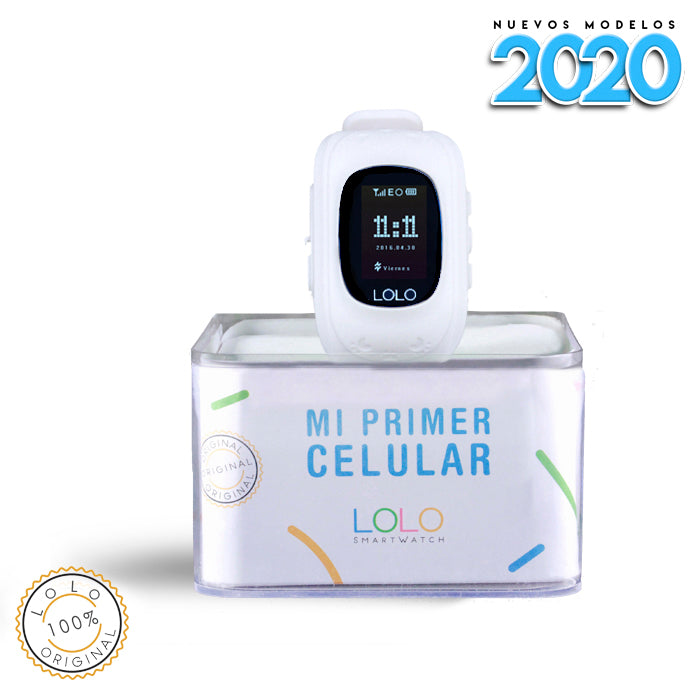 CHRISTMAS SALE: LOLO WHITE 2020 + Audifonos GRATIS - LOLO MY FIRST CELL PHONE