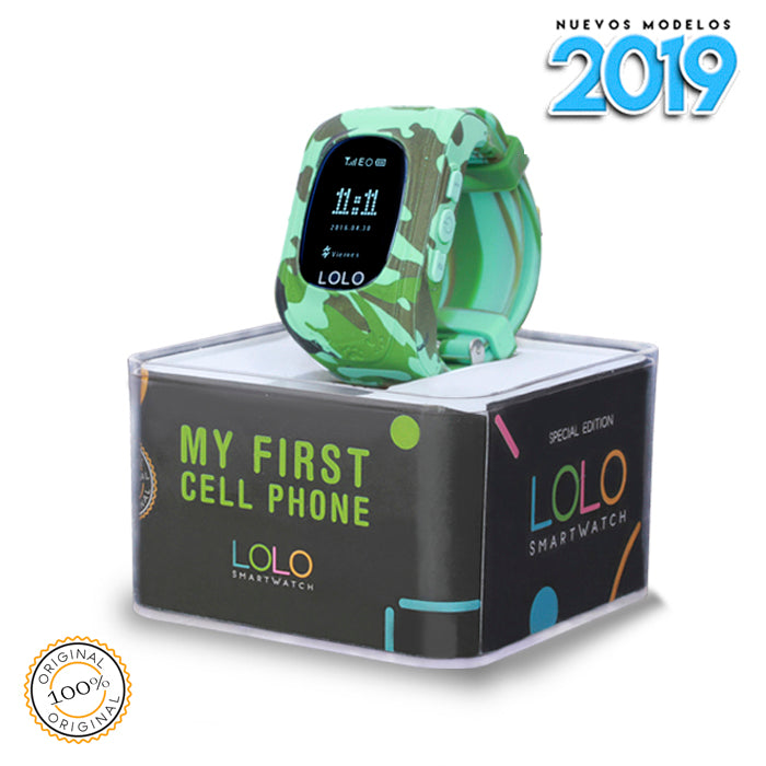 Nuevo 2019 LOLO CAMO BLUE - LOLO MY FIRST CELL PHONE