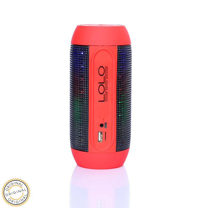 Modelo 2018: LOLO COLOR SOUND SPEAKER RED - LOLO MY FIRST CELL PHONE