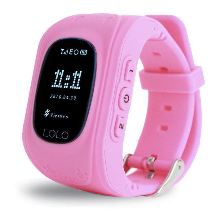 Lolo Smartwatch Pink + BOCINA GRATIS - LOLO MY FIRST CELL PHONE