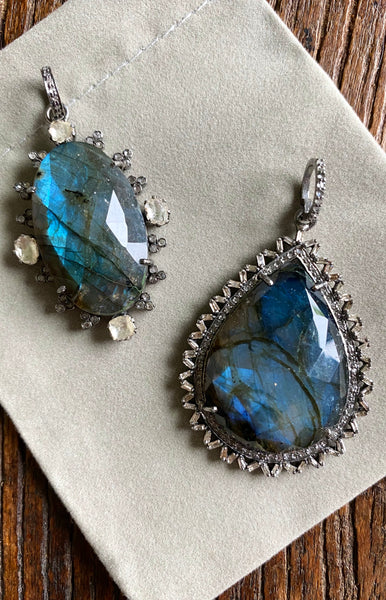 Two Labradorites