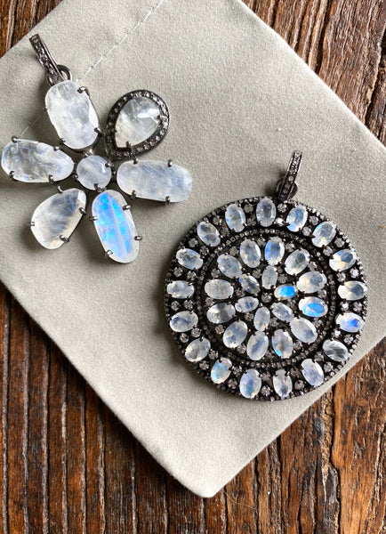 Moonstone Flower or Mosiac
