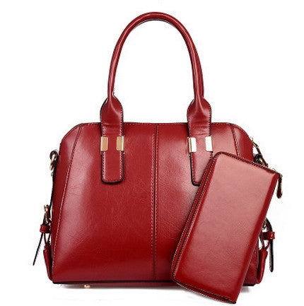 New Elegant Office Day 2 In 1 Bag Set  Red