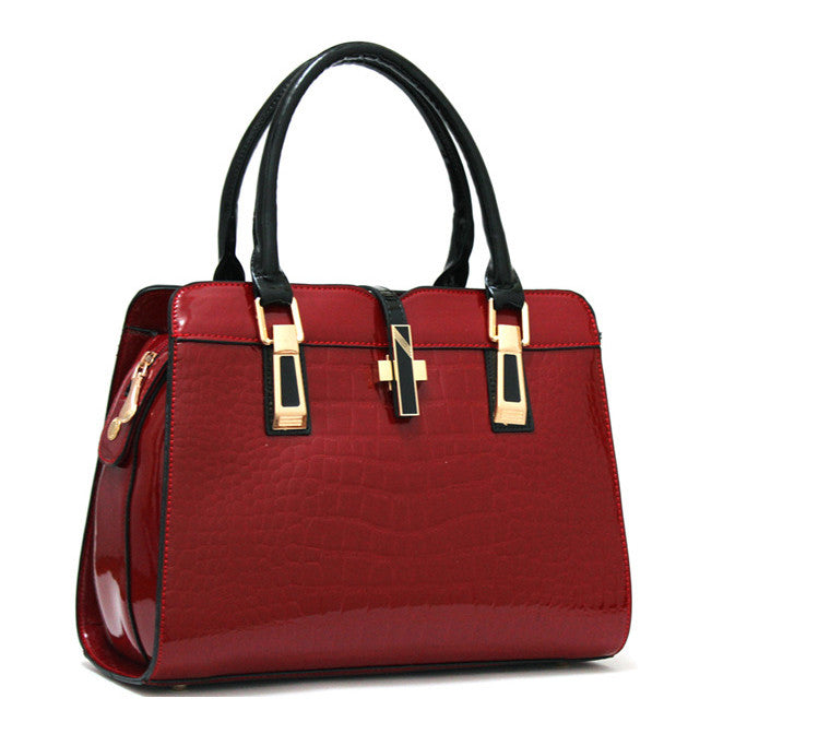 New Designer Celebrity Office Fashion Bag  Red