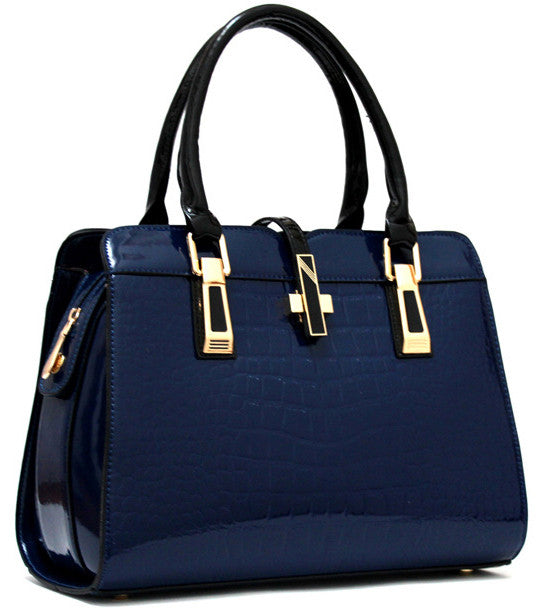 New Designer Celebrity Office Fashion Bag  Blue
