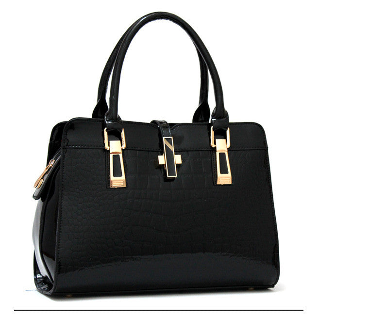 New Designer Celebrity Office Fashion Bag  Black