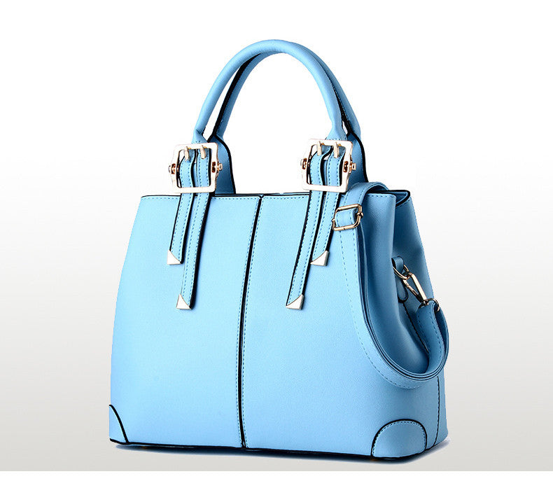 New Office Designer Elegant Trendy Bag  Light Blue