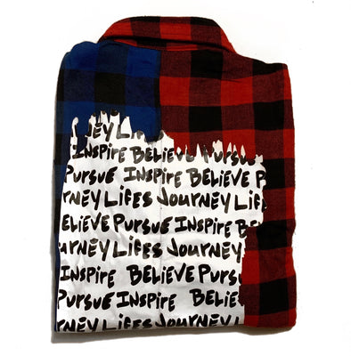 BPI Woven Flannel Long Sleeve.