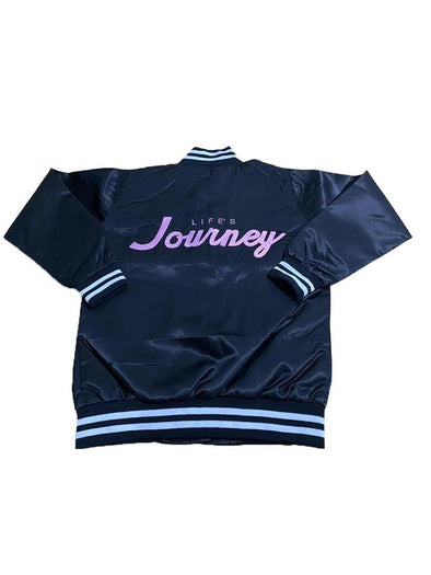 WOMENS SATIN BOMBER