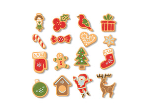Christmas Cookies Set Ginger Wall Mural Wall Decal