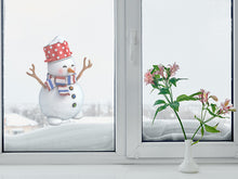 Load image into Gallery viewer, Snowman Semi Gloss Wall Decal