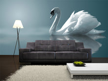 Load image into Gallery viewer, A Swan Wall Mural