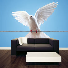 Load image into Gallery viewer, A Dove on Wire Wall Mural