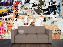 Load image into Gallery viewer, Abstract Advertisement Wall Mural