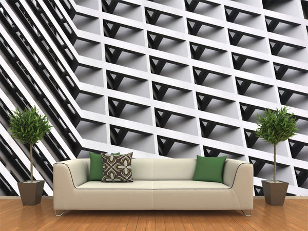 Abstract Architecture Wall Mural