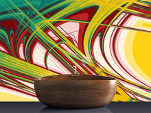 Load image into Gallery viewer, Abstract Curves Wall Mural