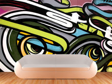 Load image into Gallery viewer, Abstract Graffiti Wall Mural