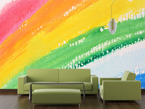 Abstract Watercolor Background Wall Mural