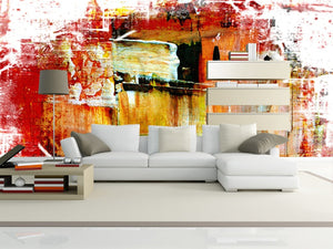 Acrylic Painting Wall Mural