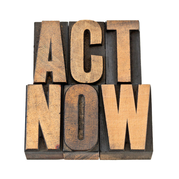Act Now Wall Mural