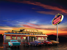 Load image into Gallery viewer, American Diner Wall Mural