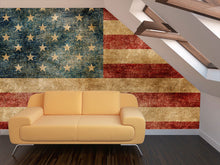 Load image into Gallery viewer, American Grunge Flag Wall Mural