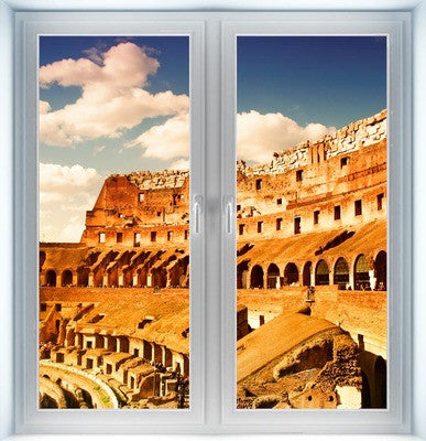 Amphitheater Colosseum Instant Window