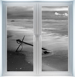 Anchor on Beach Instant Window