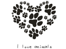Load image into Gallery viewer, Animal Footprint Wall Decal