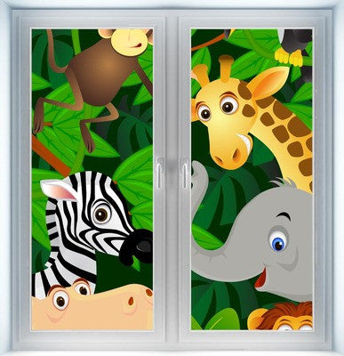 Animal Cartoon Instant Window