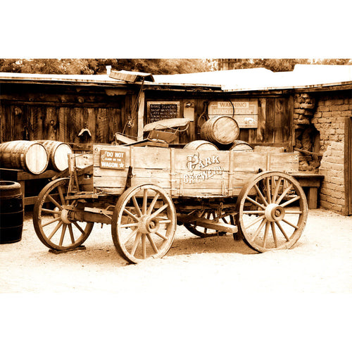 Antique American Cart Wall Mural