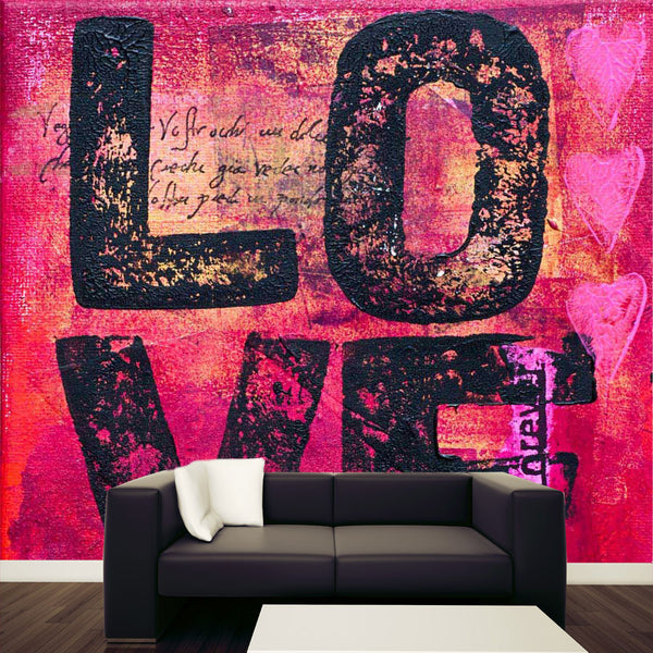 Artwork Love Wall Mural