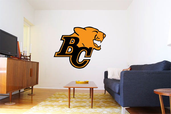 BC Lions Logo Wall Decal