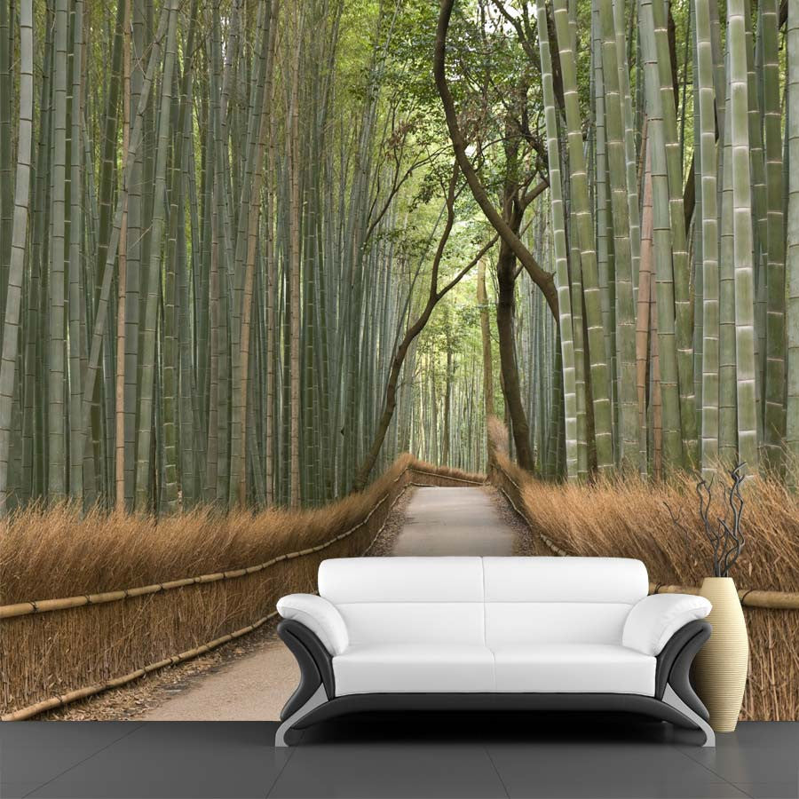 Bamboo grove wall mural majestic wall art bamboo grove wall mural bamboo grove wall mural amipublicfo Images