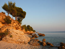 Load image into Gallery viewer, Beach in Croatia Wall Mural
