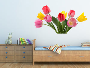 Beautiful Spring Tulips Wall Decal