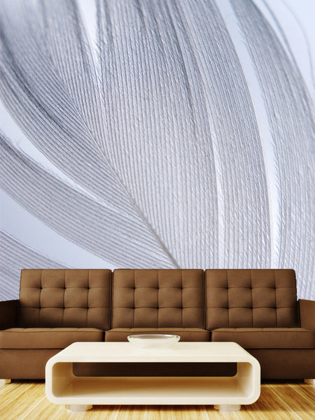 Birds Feather Wall Mural