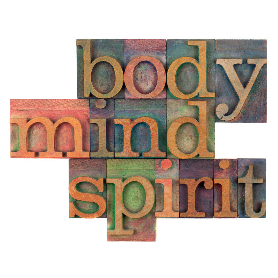 Body, Mind and Spirit Wall Mural