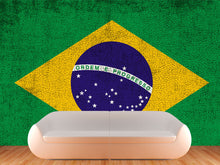Load image into Gallery viewer, Brazil Flag Wall Mural