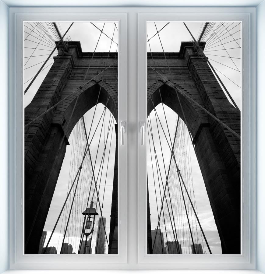 Brooklyn Bridge Instant Window 2