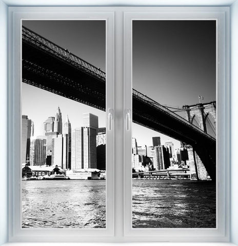 Brooklyn Bridge Instant Window