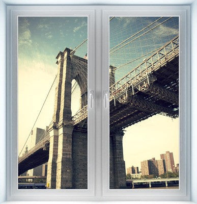 Brooklyn Bridge Pier Instant Window