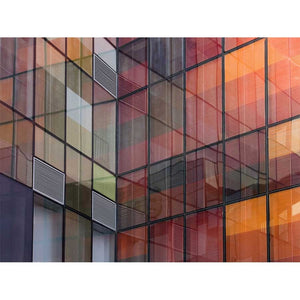 Building Reflections Wall Mural