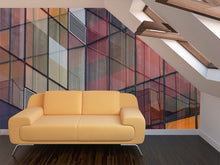 Load image into Gallery viewer, Building Reflections Wall Mural