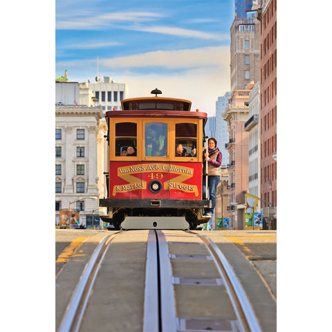 Cable Car San Francisco Wall Mural
