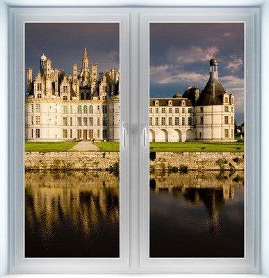 Chambord Castle Instant Window