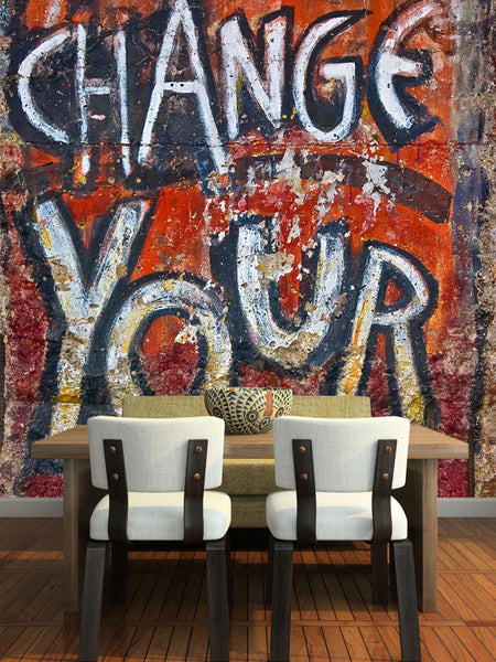 Change Your Life Wall Mural