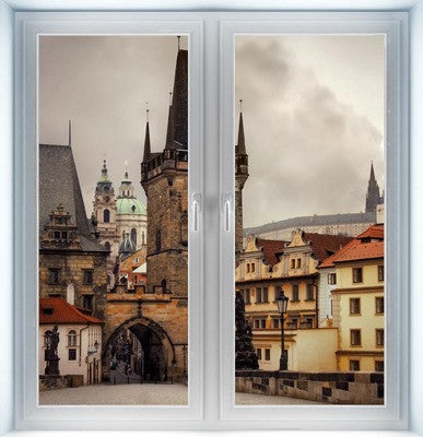 Charles Bridge Instant Window