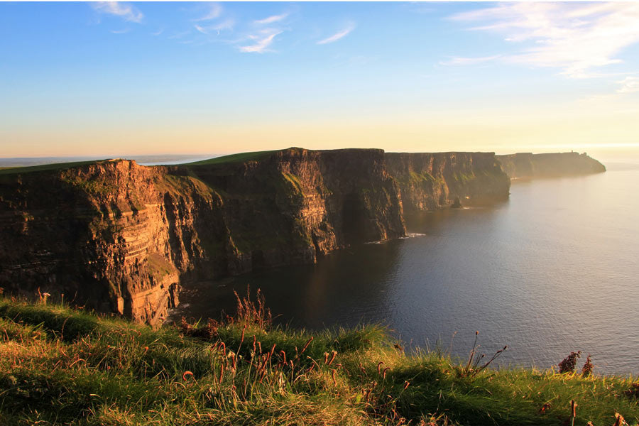 Cliffs of Moher at Sunset Wall Mural