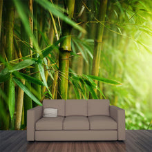 Load image into Gallery viewer, Closeup of Bamboo Forest Wall Mural